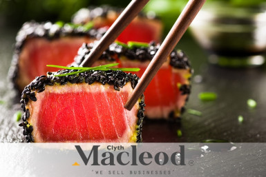 Sushi And Japanese Restaurant Business for Sale Hibiscus Coast