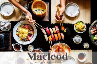 Licensed Japanese Restaurant Business for Sale Auckland