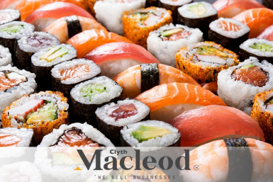 5 Day Sushi Takeaway Business for Sale Albany Auckland