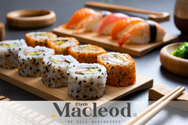 5 Day Sushi Takeaway Business for Sale Auckland City