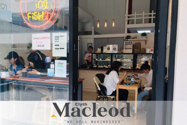 5 Days Sushi Takeaway Business for Sale Auckland CBD