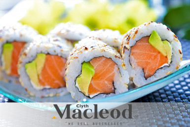 5 Days Sushi Takeaway Business for Sale Takapuna Auckland