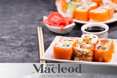 6 Day Sushi Takeaway Business for Sale South Auckland