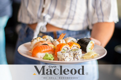 Simple Sushi Takeaway Business for Sale Auckland