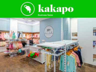 Kids Retail and Online Clothing Business for Sale Westfield Mall Auckland