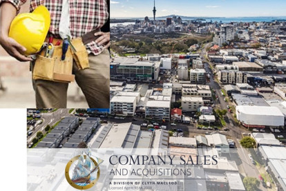 Commercial and Industrial Property Maintenance Business for Sale Auckland