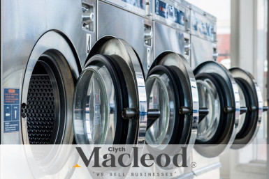 Well-Equipped Laundromat Business for Sale South Auckland