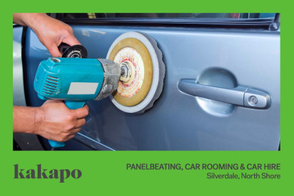Panelbeating Car Grooming and Car Hire Business for Sale Silverdale, North Auckland