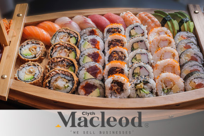 5 Days Sushi Shop Business for Sale New Plymouth