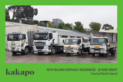 Construction Services Business for Sale Central North Island location available on application