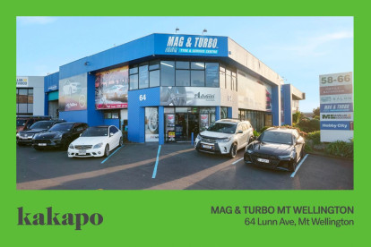 Mag and Turbo Tyre Franchise for Sale Mt Wellington Auckland