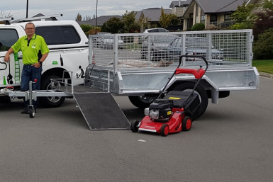 Commercial and Domestic Lawnmowing Franchise for Sale Christchurch