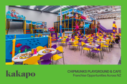 Chipmunks Playland and Cafe Franchise for Sale Dunedin