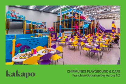 Chipmunks Playland and Cafe Franchise for Sale Dunedin