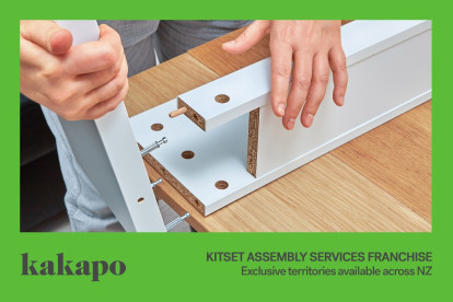 Kitset Assembly Services Franchise for Sale Gisborne