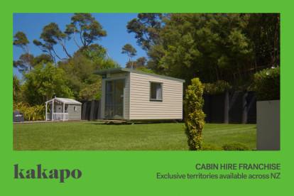 Cabin Hire Franchise for Sale Taranaki