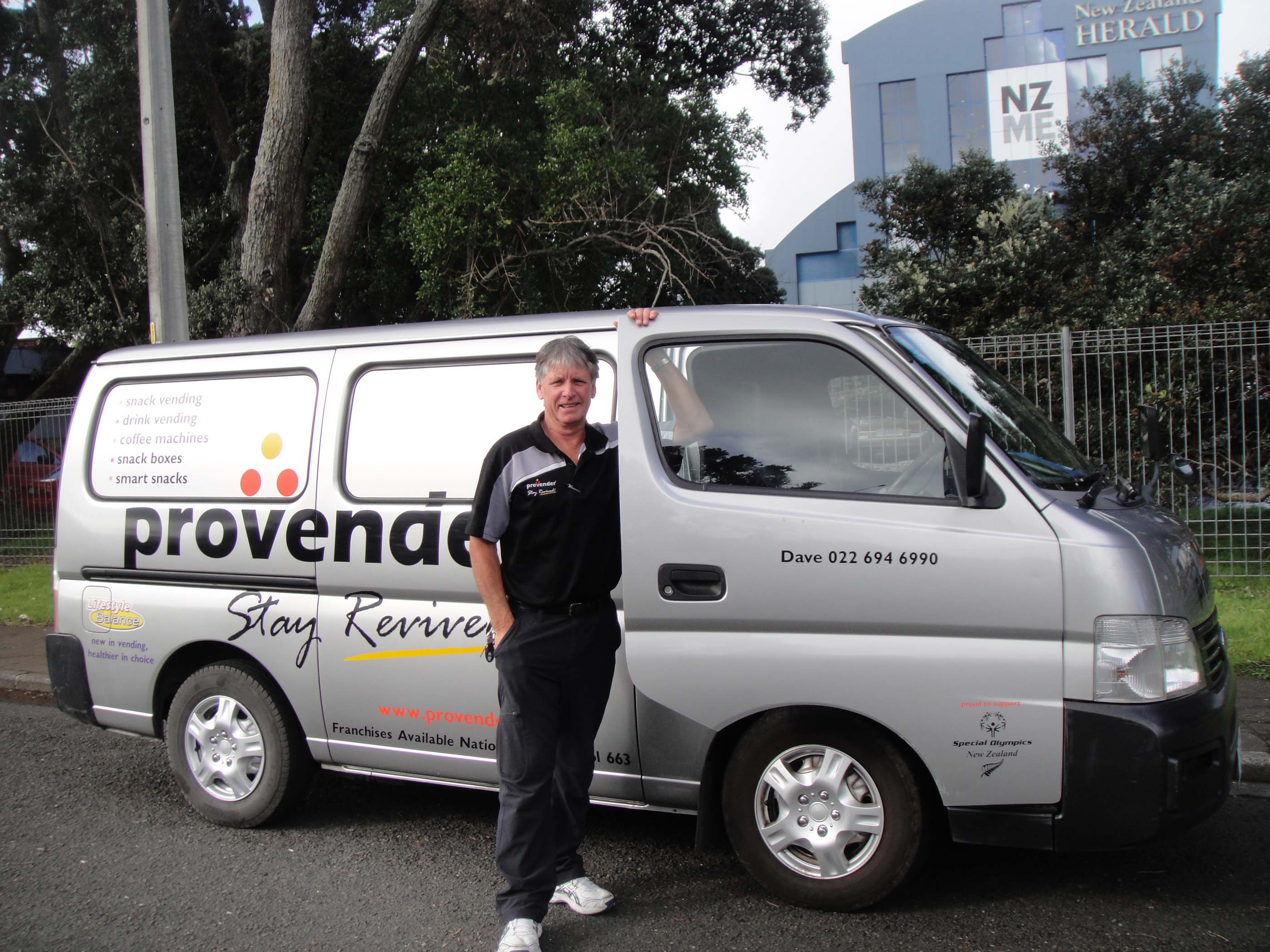 Mobile Refreshment Vending Franchise for Sale Auckland