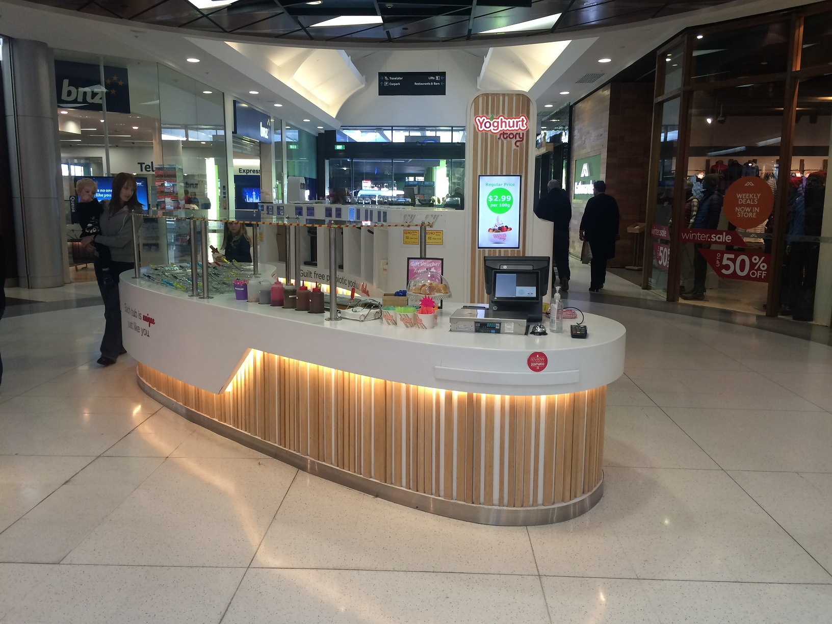 Juice/Yogurt Bar Franchise for Sale Christchurch