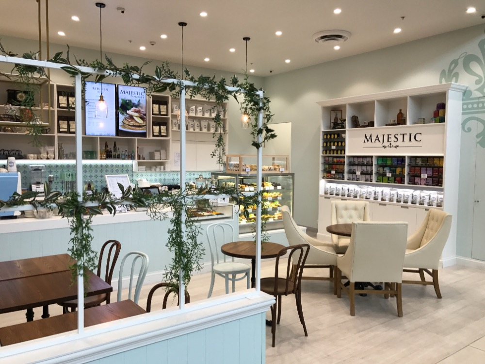 Majestic - Premium Cafe Franchise for Sale Northlands Shopping Centre Christchurch