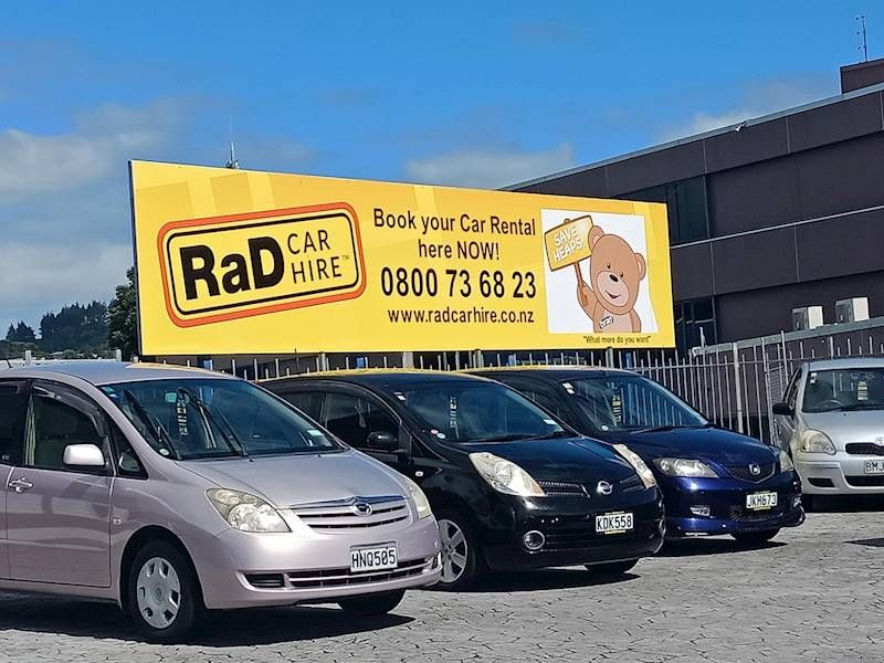 RaD Car Hire Franchise for Sale Whangarei