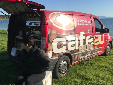 Coffee and Food Van Franchise for Sale Manukau Auckland