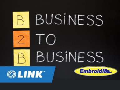 B2B Embroidery Franchise for Sale Newmarket Auckland