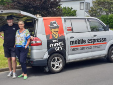 Mobile Coffee Van Franchise for Sale Auckland